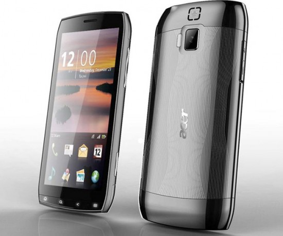 Acer 4.8-inch Android smartphone