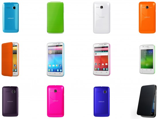 Alcatel One Touch POP Series